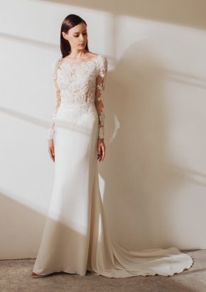 LM-By-Lusan-Mandongus-2019-Varsha-embellished-long-sleeves-mermaid-crepe-wedding-dress-01