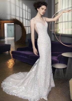 LM by Lusan Mandongus 2018 - hong kong embellished sexy mermaid wedding dress with open back-01
