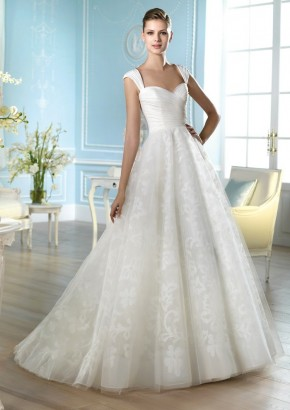 San Patrick Wedding Dress / San Patrick 婚紗 - LMR Weddings