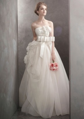 White By Vera Wang Wedding Dress / White By Vera Wang 婚紗系列 - LMR Weddings