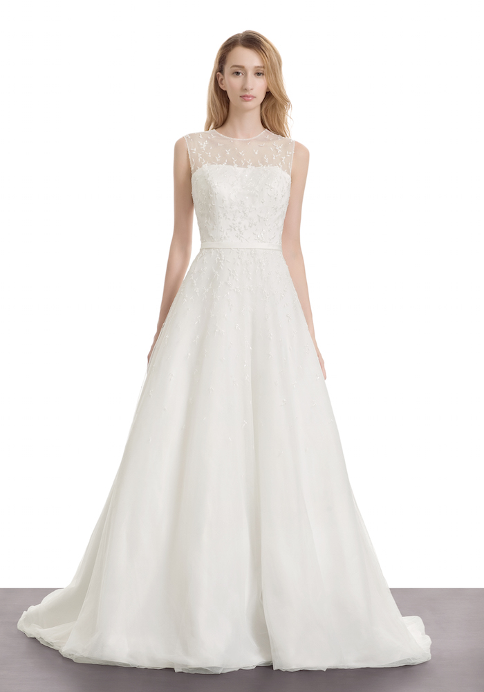 Atelier lyanna simply besded wedding dress hong kong Wedding guest dress hong kong