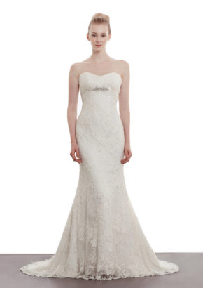 annasul y. sweatheart neckline wedding dress with embellishment detail 1