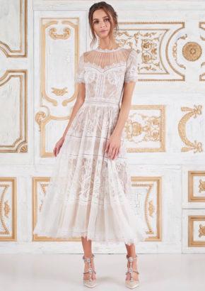 hong kong - casual tea length wedding dress-01