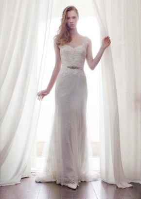 lm by lusan mandongus bridal - hong kong - romantic mermaid lace wedding dress with straps-01