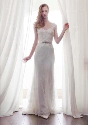 lm by lusan mandongus bridal - hong kong - romantic mermaid lace wedding dress with straps-01