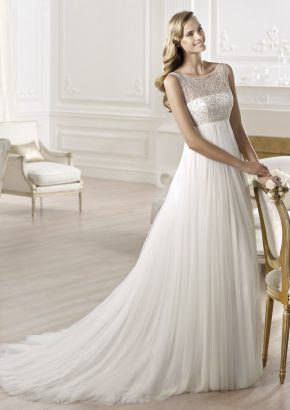 pronovias-ORES-empire-waist-tulle-wedding-dress_01