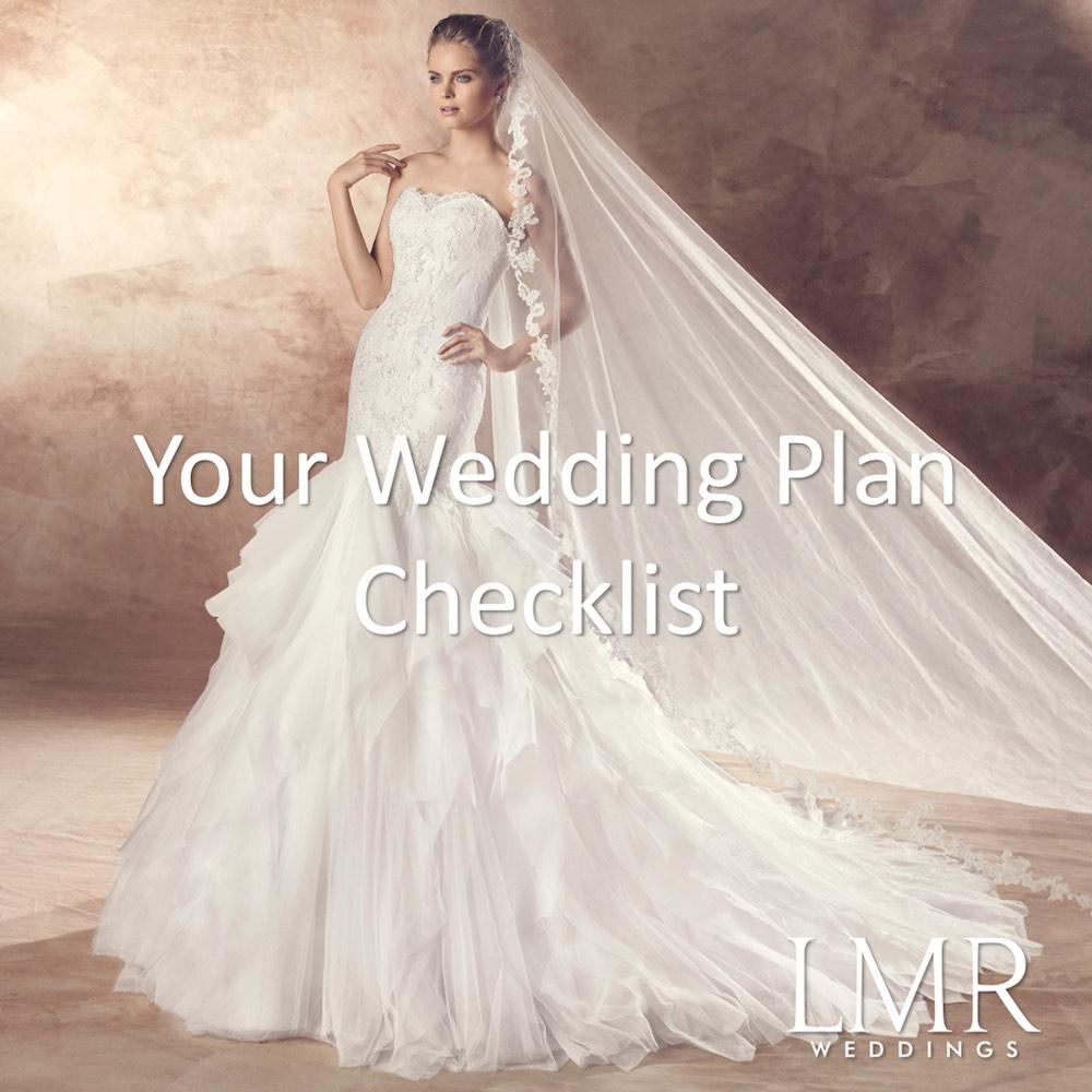 你的結婚準備清單 / Your Wedding Plan Checklist - LMR Weddings