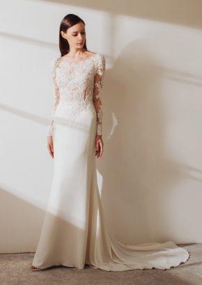 LM-By-Lusan-Mandongus-2019-Varsha-embellished-long-sleeves-mermaid-crepe-wedding-dress-01