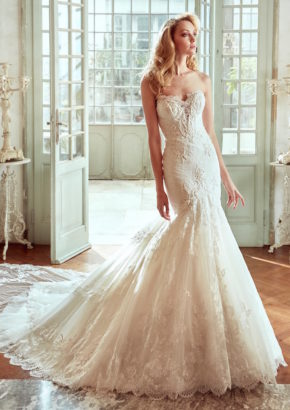 Nicole-moda-sposa-2017-embroidered mermaid wedding dress 01