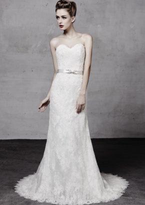 lusan mandongus - embellished classic mermaid wedding dress-01