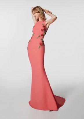pronovias-grondal-rose-flowers-coral-crepe-evening-dress_01