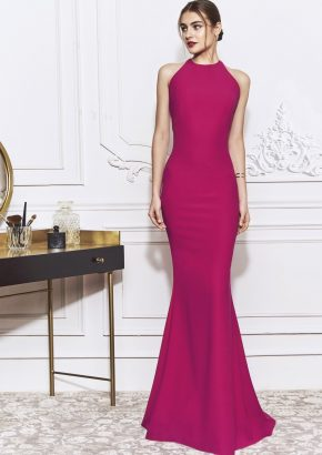 st-patrick-2020-cocktail-IFIGENIA-hot-pink-mermaid-crepe-evening-dress_01